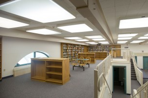 Fort Bragg High School Library